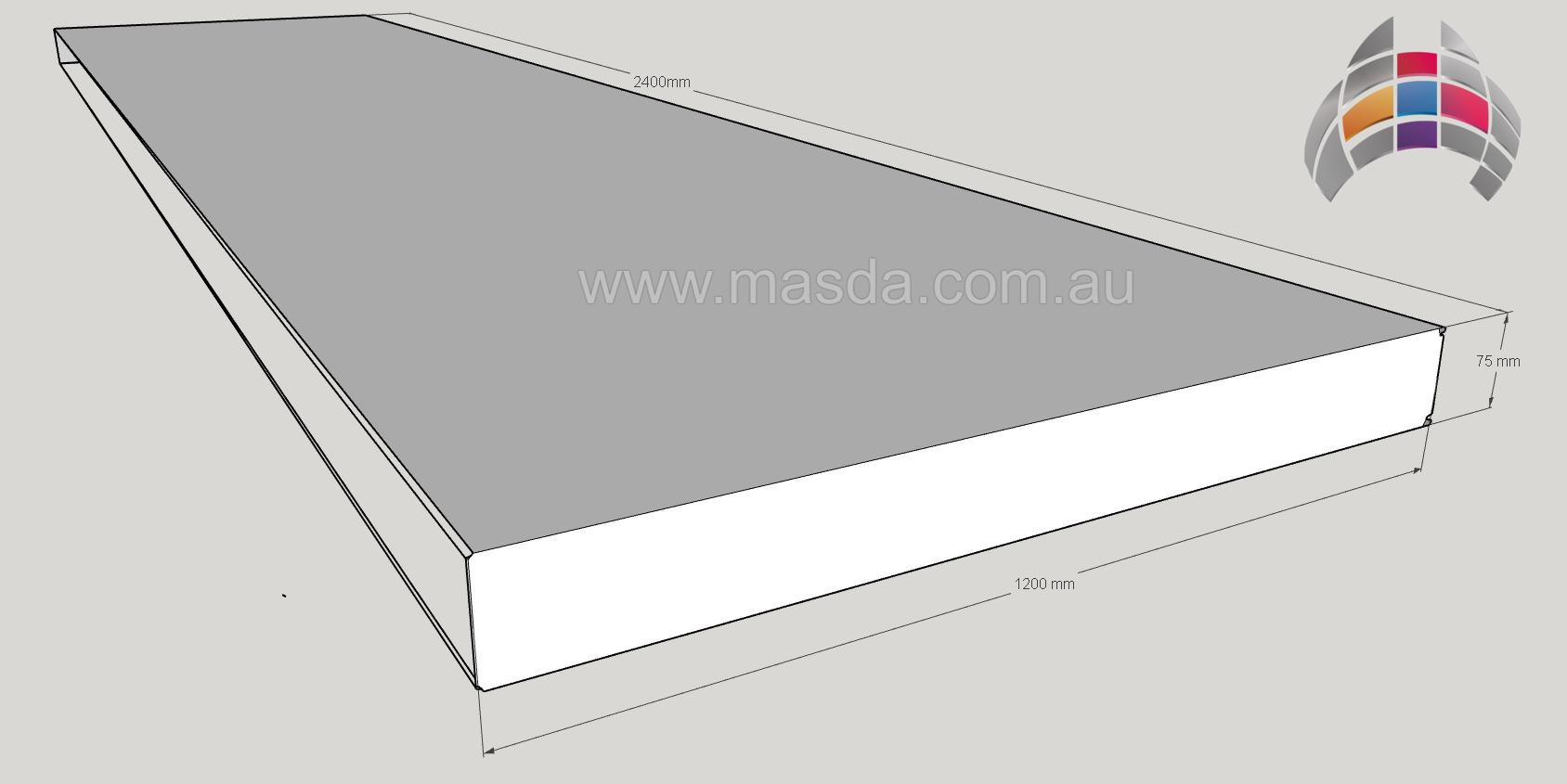 Masda Wall Panel 75mm 2