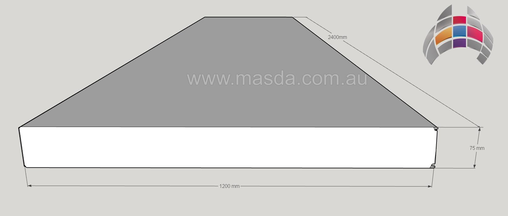 Masda Wall Panel 75mm